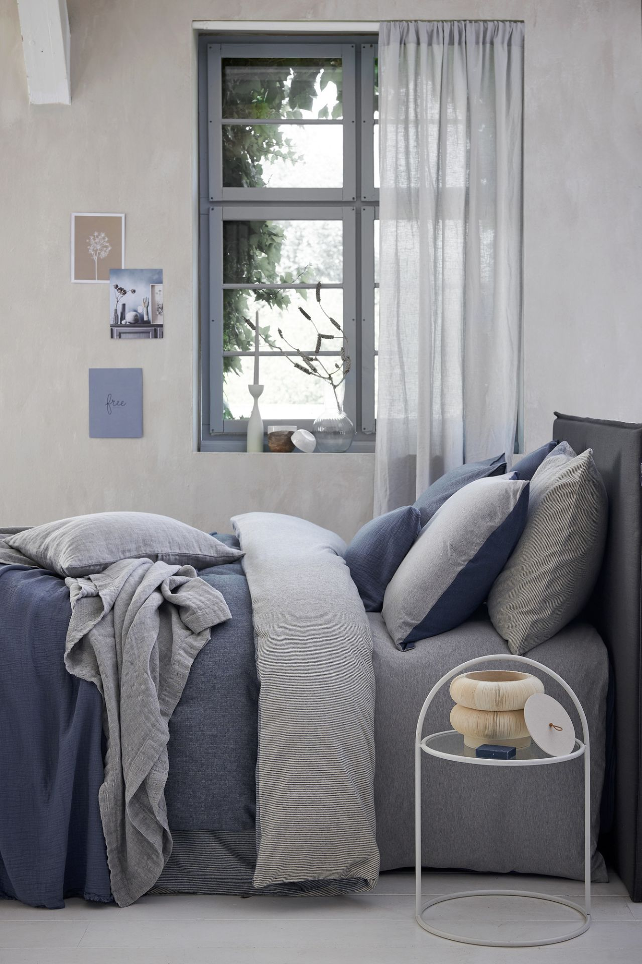 VanDyck bedtextiel Home 79, Home 80 184 Faded denim, Home 84 Multi, Pure 22 011 grey, Pure 8 184 faded denim bij Slaapkenner Zuidervaart in Heemskerk